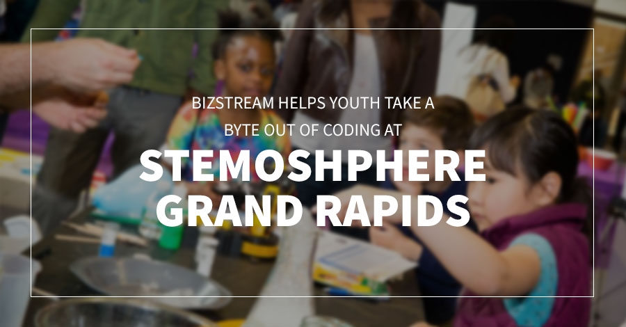 BizStream Helps Youth Take a Byte Out of Coding at STEMosphere Grand Rapids