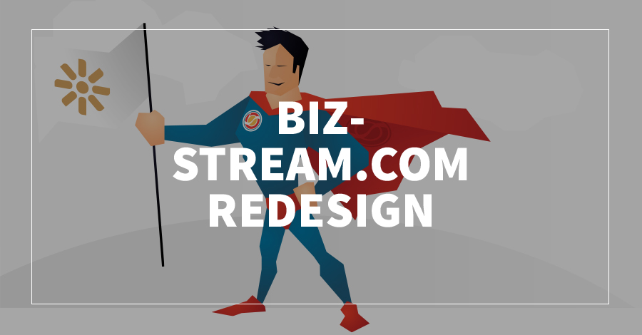BizStream.com Redesign