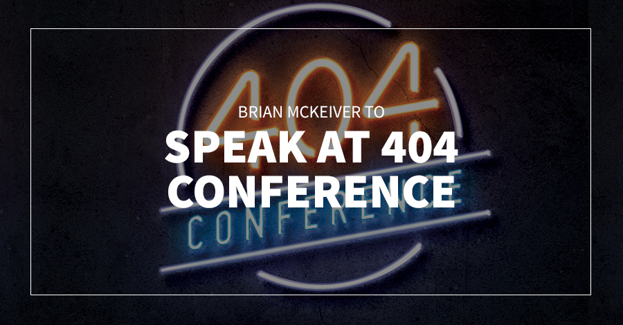 Brian McKeiver to Speak at 404 Conference