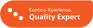 This is the Kentico Xperience Quality Expert badge