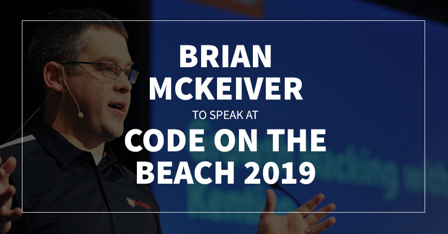 Brian McKeiver to Speak at Code on the Beach 2019