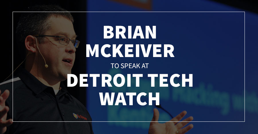 Brian McKeiver to Speak at Tech Watch 2019