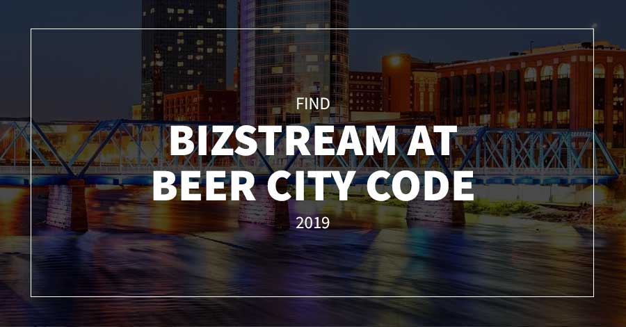 Find BizStream at Beer City Code 2019