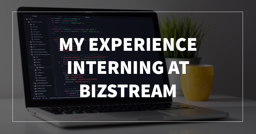 My Experience Interning at BizStream