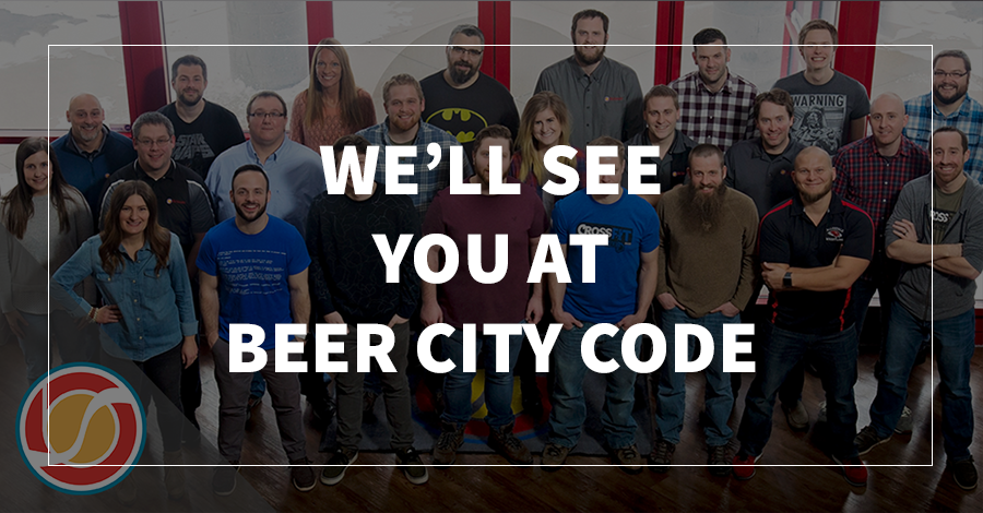 We'll See You at Beer City Code