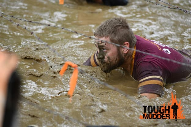 Albert Hovingh Competing in Tough Mudder