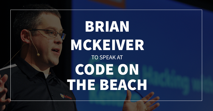 Brian McKeiver to Speak at Code on the Beach