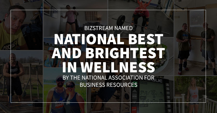 BizStream Named National Best and Brightest in Wellness by the National Association for Business Resources
