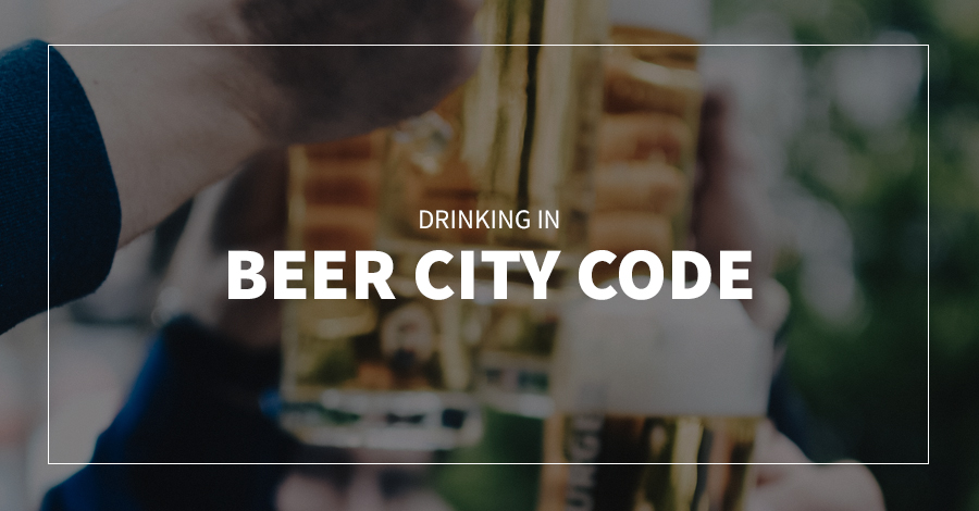Drinking in Beer City Code