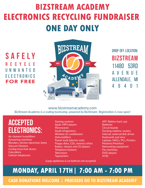 BizStream Electronics Recycling Flyer