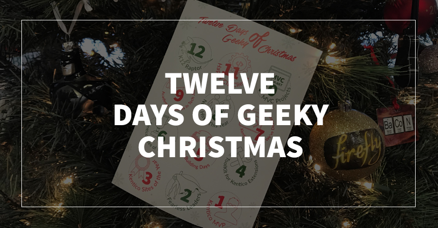 Twelve Days of Geeky Christmas