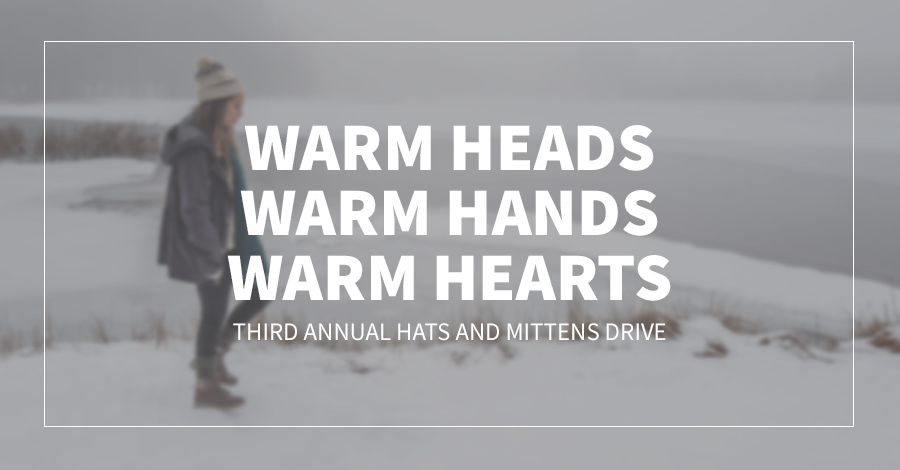 Warm Heads, Warm Hands, Warm Hearts | Third Annual Hats and Mittens Drive