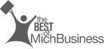 The Best of MichBusiness winner logo